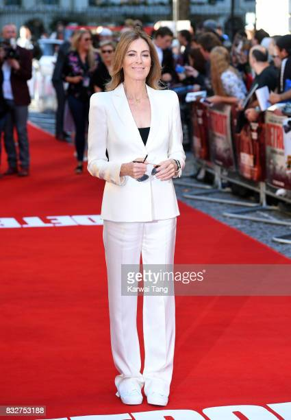 Kathryn Bigelow arrives for the European Premiere of 'Detroit' at The Curzon Mayfair on August 16 2017 in London England
