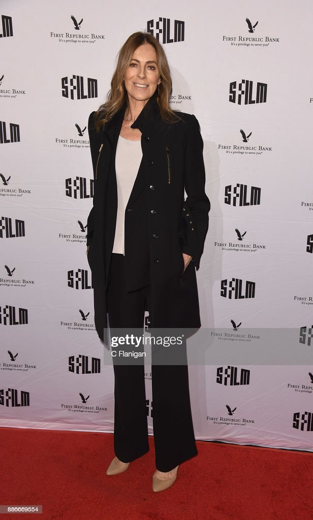 Kathryn Bigelow attends SFFILM's 60th Anniversary Awards Night at Palace of Fine Arts Theatre on December 5, 2017 in San Francisco, California.