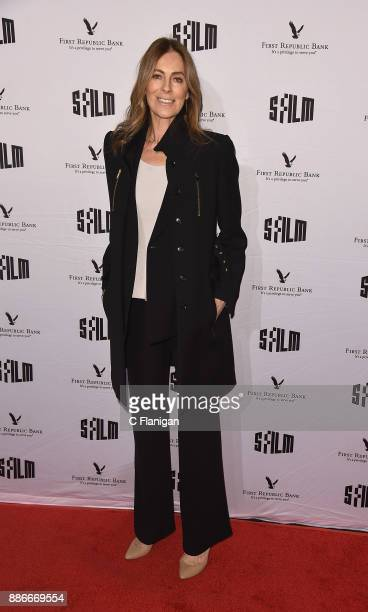Kathryn Bigelow attends SFFILM's 60th Anniversary Awards Night at Palace of Fine Arts Theatre on December 5 2017 in San Francisco California