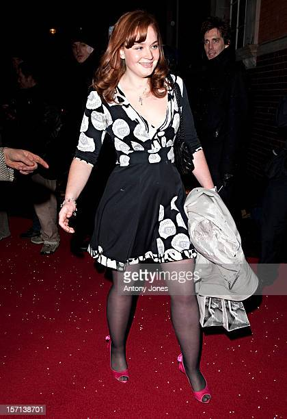 Kathryn Blair Attends The Vip Reception To Launch The English National Ballet Christmas Season Ahead Of The Performance Of 'The Nutcracker' At The St...