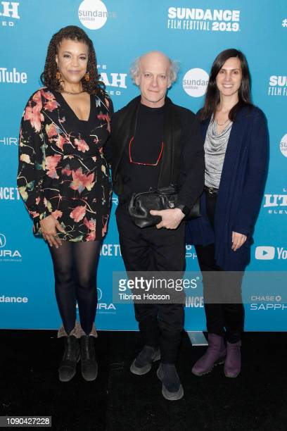 Kathryn Bostic Timothy GreenfieldSanders and Johanna Giebelhaus attend the 'Toni Morrison The Pieces I Am' Premiere during the 2019 Sundance Film...