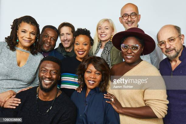 Kathryn Bostic Wendell Pierce Aldis Hodge Richard Gunn Chinonye Chukwu Alfre Woodard Bronwyn Cornelius Julian Cautherley Danielle Brooks and Richard...