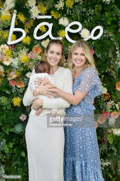 Kathryn Boyd Brolin and Sarah Wright Olsen attend Baeo Launch Party at Private Residence on January 20 2019 in Pacific Palisades California