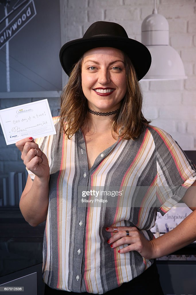 Kathryn Burns attends PILOT PEN & GBK's Pre-Emmy Luxury Lounge - Day 1 at L'Ermitage Beverly Hills Hotel on September 16, 2016 in Beverly Hills, California.