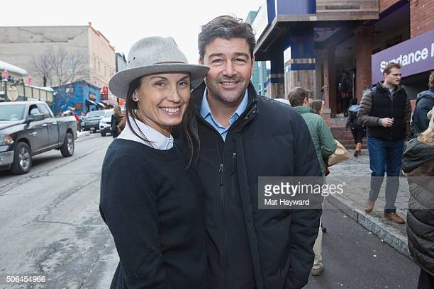 Kathryn Chandler and Kyle Chandler are sighted during the Sundance Film Festival on January 23 2016 in Park City Utah