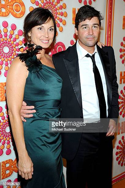 Kathryn Chandler and Kyle Chandler arrive at HBO's Annual Emmy Awards Post Award Reception Arrivals on September 18 2011 in Los Angeles California