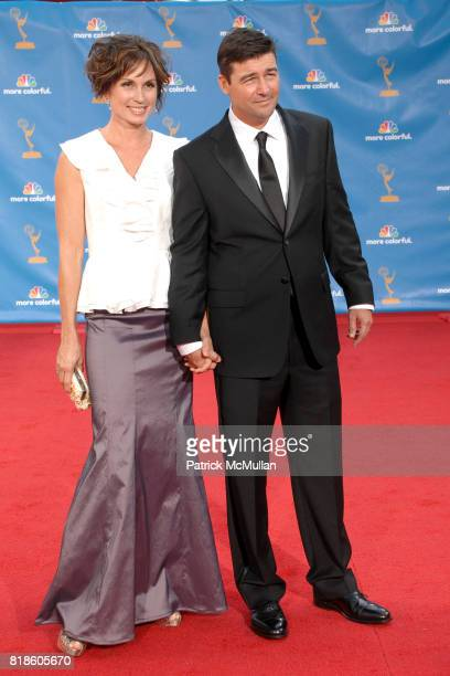 Kathryn Chandler and Kyle Chandler attend 62nd Annual Primetime Emmy Awards - Arrivals at Nokia Theatre LA Live on August 29, 2010 in Los Angeles, CA.