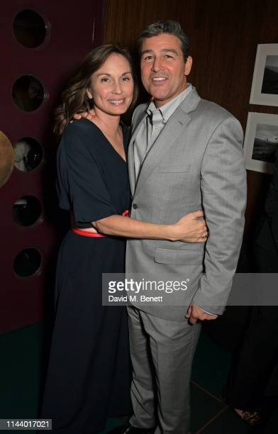 Kathryn Chandler and Kyle Chandler attend the London Premiere after party for new Channel 4 show Catch22 based on Joseph Heller's novel of the same...