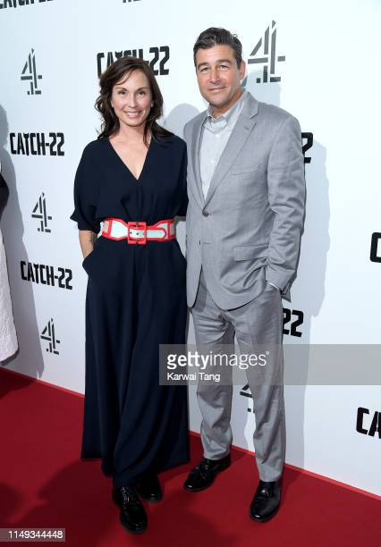 Kathryn Chandler and Kyle Chandler attends the Catch 22 UK premiere at the Vue Westfield on May 15 2019 in London United Kingdom