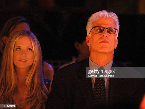 Kathryn Danson and Ted Danson during The Winners of the 6th Annual More Magazine Wilhelmina 40 Model Search at Cipriani in New York City New York...