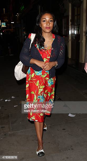 Kathryn Drysdale at the Century Club on June 24 2015 in London England