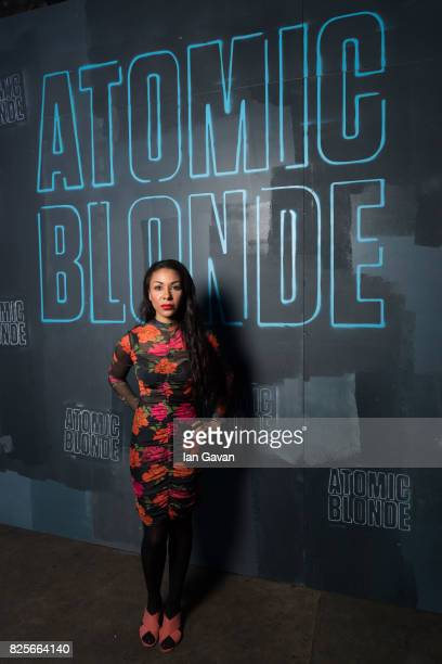 Kathryn Drysdale attends a special screening of 'Atomic Blonde' hosted by Universal Pictures at Village Underground on August 2 2017 in London England