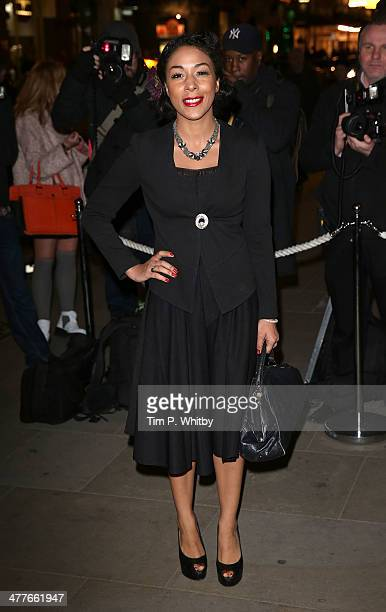 Kathryn Drysdale attends the 5th annual Rodial Beautiful Awards at St Martin's Lane Hotel on March 10 2014 in London England