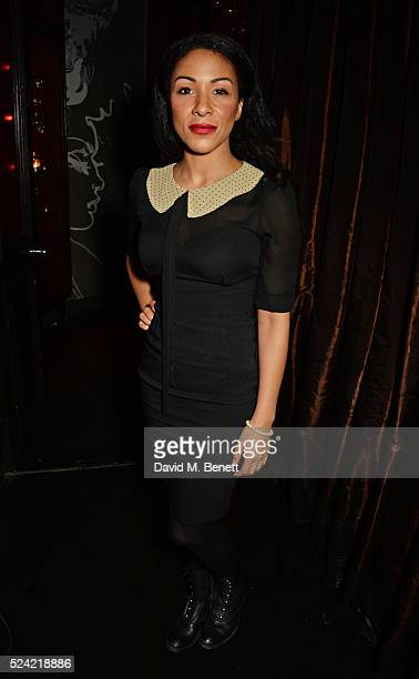 Kathryn Drysdale attends the Gala Night performance of 'Doctor Faustus' at The Cuckoo Club on April 25 2016 in London England