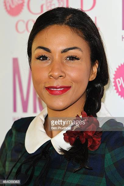 Kathryn Drysdale attends the MediaSKIN NTA Gifting Lounge at The Penthouse on January 20 2014 in London England