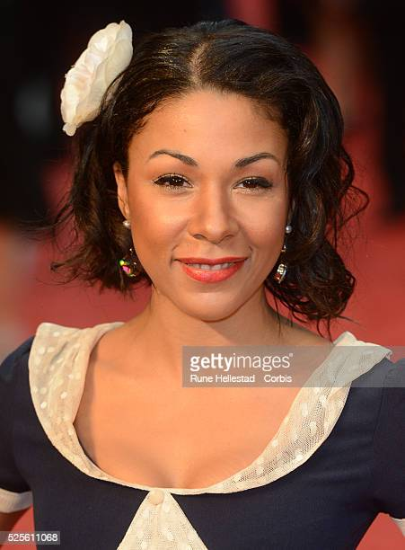 Kathryn Drysdale attends the premiere of Anna Karenina at Odeon Leicester Square