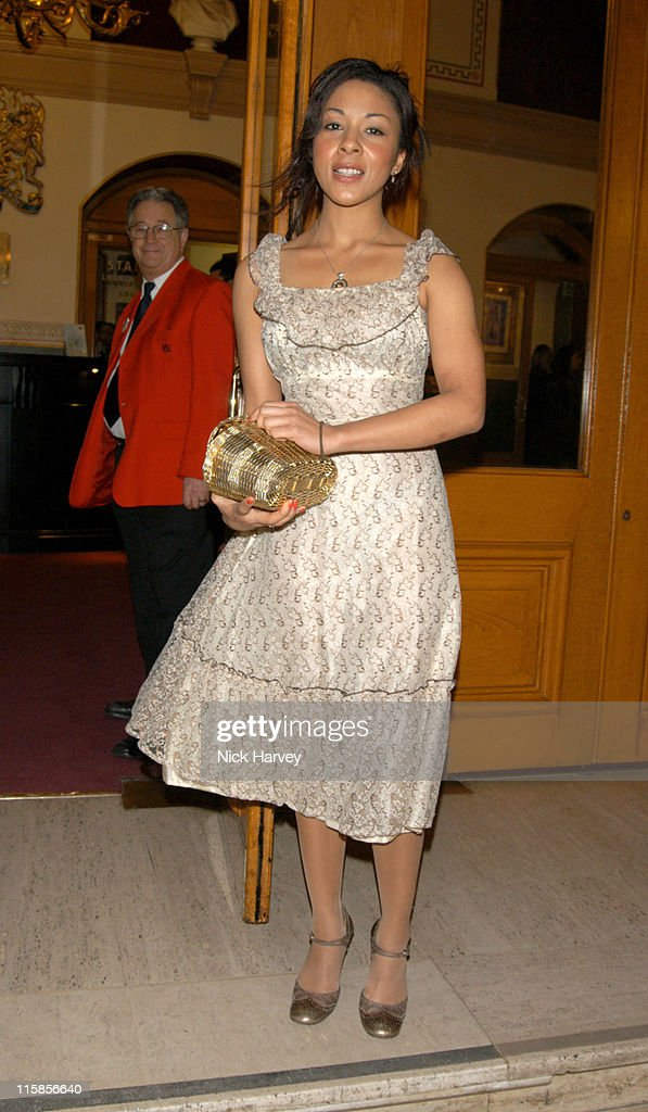 Kathryn Drysdale during Cirque du Soleil's 20th Anniversary of 'Dralion' - Arrivals at The Royal Albert Hall in London, Great Britain.