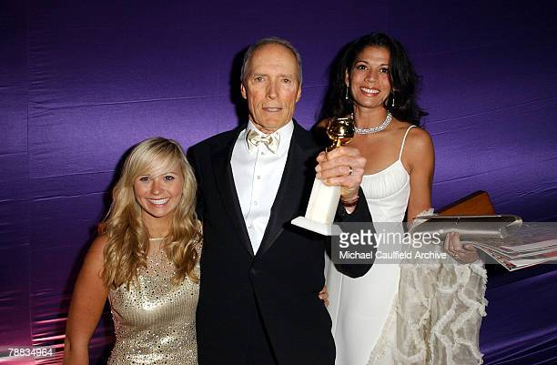 Kathryn Eastwood Clint Eastwood and Dina Eastwood