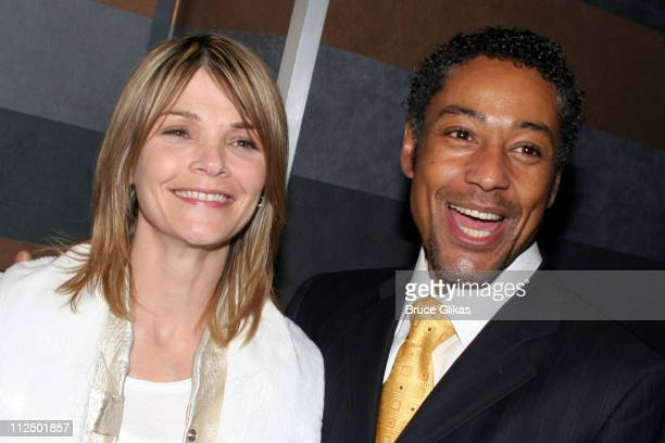 Kathryn Erbe and Giancarlo Esposito during The Atlantic Theater Company 20th Anniversary Spring Gala at The Rainbow Room in New York City New York...