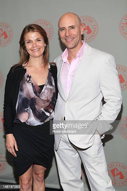 Kathryn Erbe and Jordan Lage attend 'Storefront Church' Opening Night After Party at Abe Arthur's on June 11 2012 in New York City
