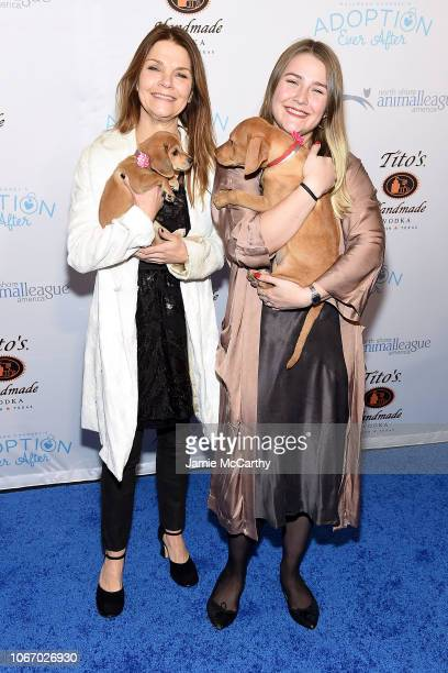 Kathryn Erbe and Maeve Erbe attend the North Shore Animal League America's Annual Celebrity Get Your Rescue On Gala at Pier Sixty at Chelsea Piers on...