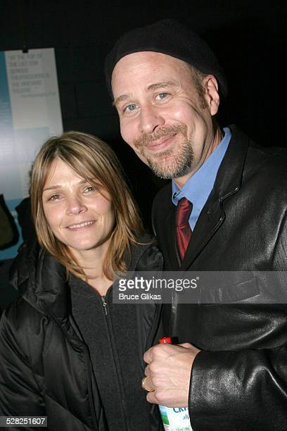 Kathryn Erbe and Terry Kinney during After Ashley OffBroadway Premiere After Party at Link in New York City New York United States