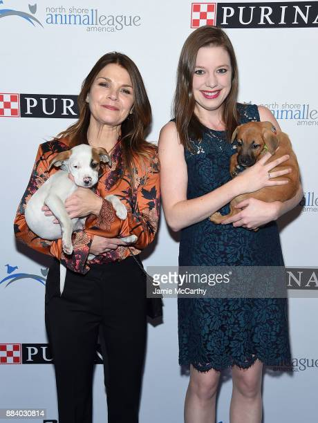 Kathryn Erbe and Vanessa Erbe attend the 2017 North Shore Animal League America Gala at Grand Hyatt New York on December 1 2017 in New York City