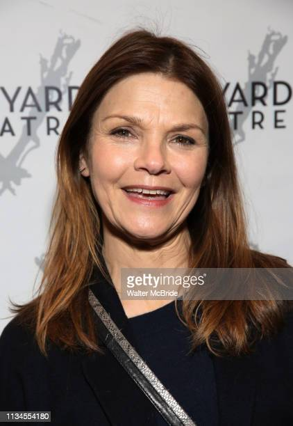 Kathryn Erbe attending the Opening Night Performance for The Vineyard Theatre production of Do You Feel Anger at the Vineyard Theatre on April 2 2019...
