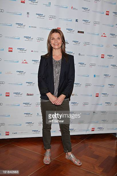 Kathryn Erbe attends Annual Charity Day Hosted By Cantor Fitzgerald And BGC Partners on September 11 2012 in New York United States