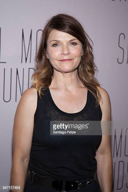 Kathryn Erbe attends 'Small Mouth Sounds' opening night at The Pershing Square Signature Center on July 13 2016 in New York City