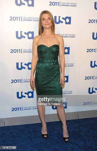 Kathryn Erbe attends the 2011 USA Upfront at The Tent at Lincoln Center on May 2 2011 in New York City