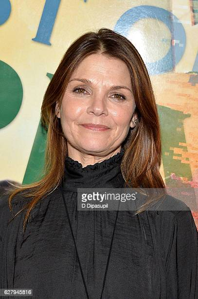 Kathryn Erbe attends 'The Babylon Line' opening night at Lincoln Center Theater on December 5 2016 in New York City