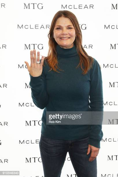 Kathryn Erbe attends the GRAMMY Gift Lounge during the 60th Annual GRAMMY Awards at Madison Square Garden on January 25 2018 in New York City