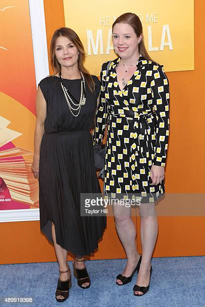 Kathryn Erbe attends the He Named Me Malala premiere at Ziegfeld Theater on September 24 2015 in New York City