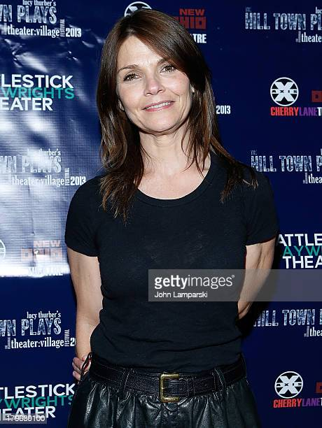 Kathryn Erbe attends the 'The Hill Town Plays' Opening Night After Partty at Sullivan Hall on September 5 2013 in New York City