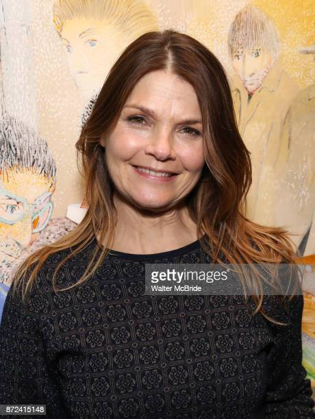 Kathryn Erbe attends The Vineyard Theatre's Emerging Artists Luncheon at The National Arts Club on November 9 2017 in New York City