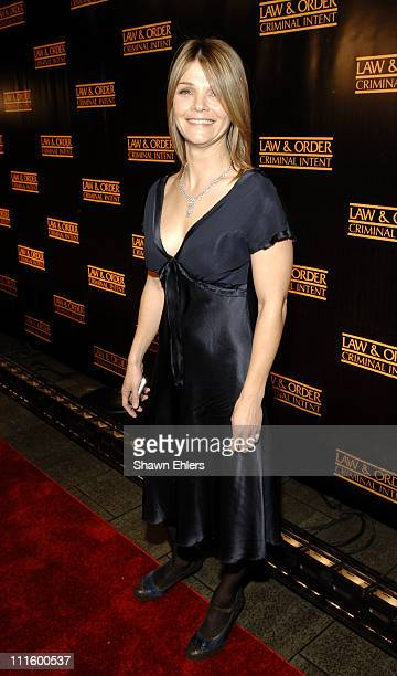 Kathryn Erbe during 'Law Order Criminal Intent' 100th Episode at The Lighthouse at Chelsea Piers in New York City New York United States