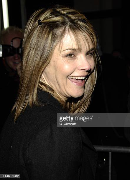 Kathryn Erbe during Talk Radio Broadway Opening Night at The Longacre Theatre in New York City New York United States