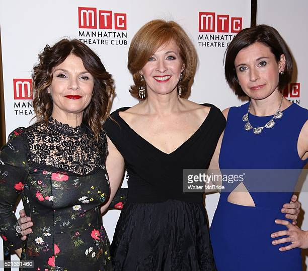 Kathryn Erbe Kathleen McNenny and Hannah Cabell attend the Broadway Opening Night performance of 'The Father' at The Samuel J Friedman Theatre on...