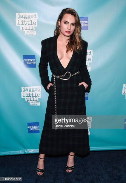 Kathryn Gallagher attends the after party for the opening night of the Broadway show Jagged Little Pill at Broadhurst Theatre on December 05 2019 in...