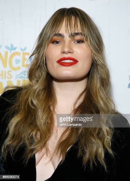 """Kathryn Gallagher attneds """"Once On This Island"""" Broadway opening night at Circle in the Square Theatre on December 3, 2017 in New York City."""