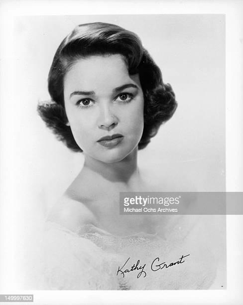 Kathryn Grant AKA Olive Kathyrn Grandstaff AKA Kathryn Crosby circa 1955