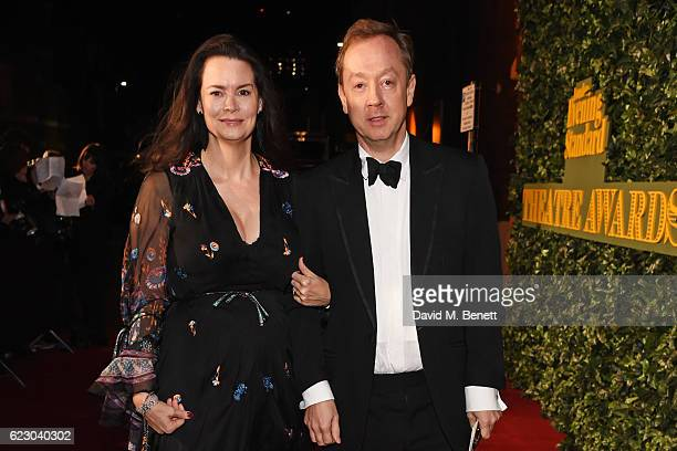 Kathryn Greig and Geordie Greig arrive at The 62nd London Evening Standard Theatre Awards recognising excellence from across the world of theatre and...