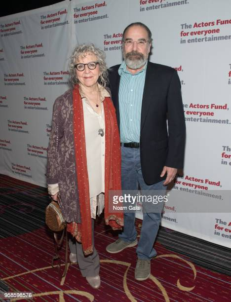 Kathryn Grody and Mandy Patinkin attend The Actors Fund 2018 Gala at Marriott Marquis Times Square on May 14 2018 in New York City