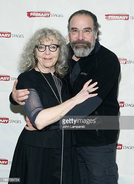 Kathryn Grody and Mandy Patinkin attend The Model Apartment Opening Night at Sarabeth's on October 15 2013 in New York City