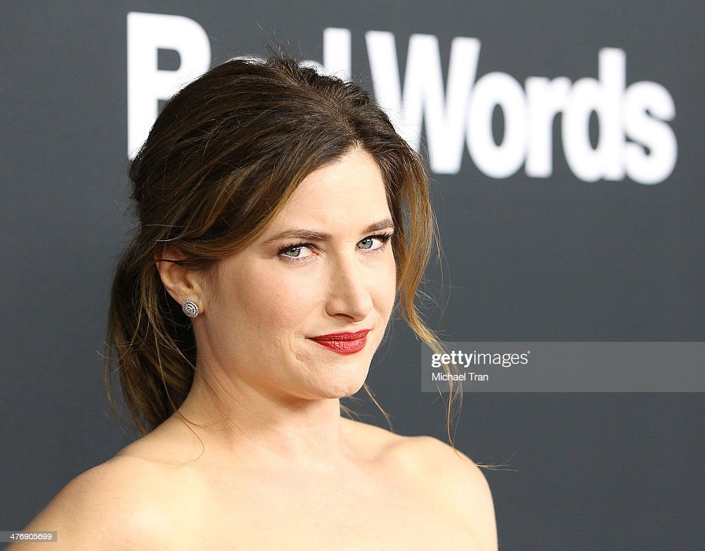 Kathryn Hahn arrives at the Los Angeles premiere of 'Bad Words' held at ArcLight Cinemas Cinerama Dome on March 5, 2014 in Hollywood, California.