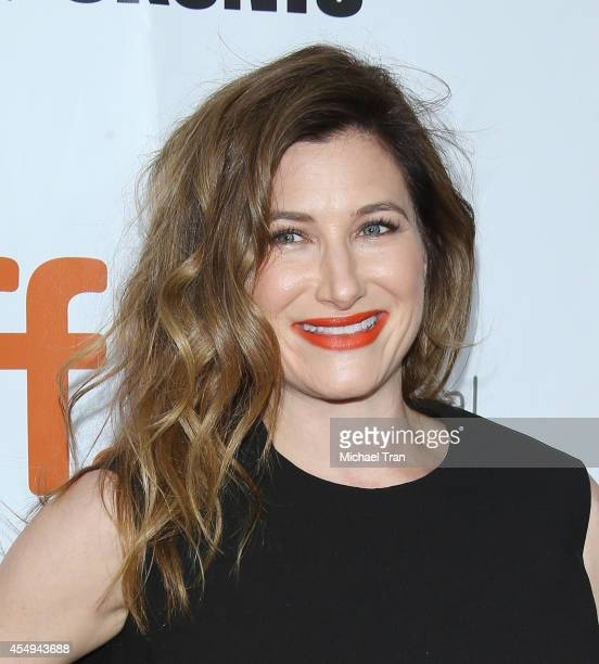 Kathryn Hahn arrives at the premiere of This Is Where I Leave You during the 2014 Toronto International Film Festival Day 4 on September 7 2014 in...