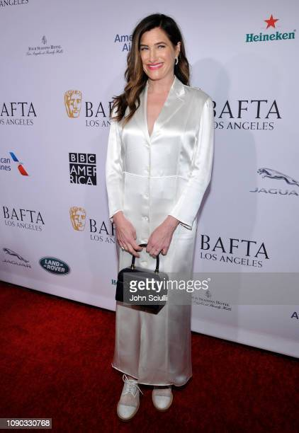 Kathryn Hahn arrives to the BAFTA Tea Party at The Four Seasons Hotel Los Angeles at Beverly Hills on January 05 2019 in Beverly Hills California