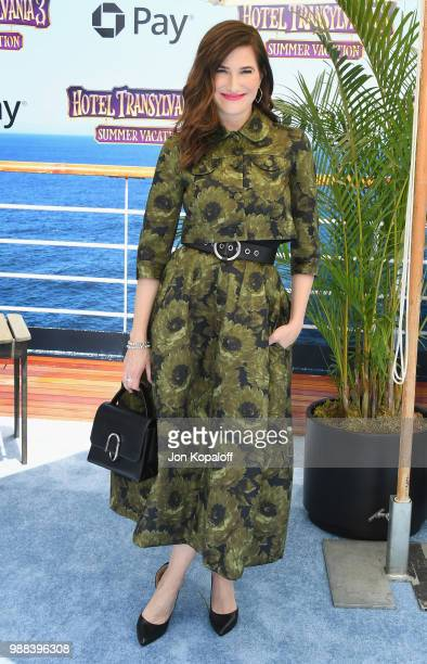 Kathryn Hahn attends Columbia Pictures And Sony Pictures Animation's World Premiere Of Hotel Transylvania 3 Summer Vacation at Regency Village...