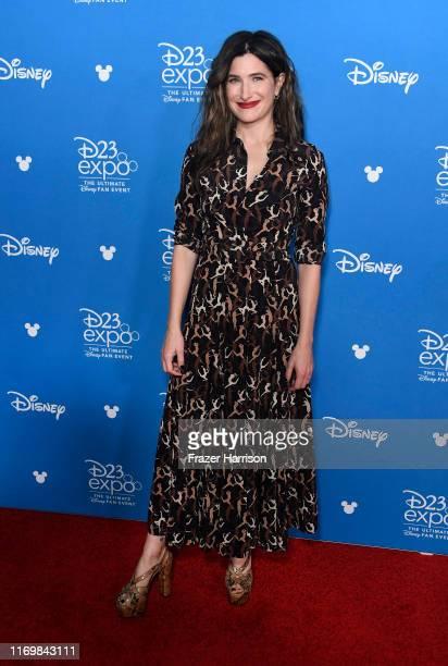 Kathryn Hahn, attends D23 Disney + event at Anaheim Convention Center on August 23, 2019 in Anaheim, California.